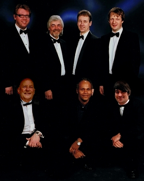 Function / Wedding Band<br> Ivan Garford - Keys <br> Mal Ashby - Drums <br> Eddie Seales - Sax <br> Jim Wheeler - Bass <br> Guy Ludbrook - Trumpet <br> Martin Ferguson - Vocals <br> Dan Ashby - Guitar